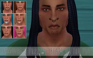 Борода, щетина Light254