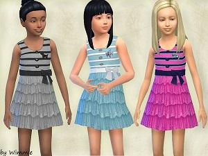 Для детей (платья, туники, комлекты с юбками) Light259