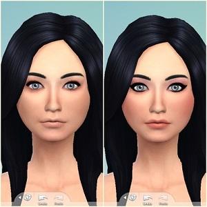 Скинтоны, готовые лица Light268