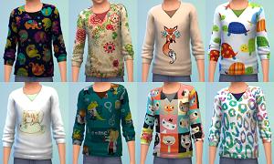 Для детей (топы, рубашки, свитера) Light361