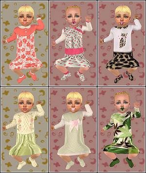 Одежда для младенцев (дефолты) - Страница 6 Light376