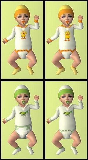 Одежда для младенцев (дефолты) - Страница 7 Light444