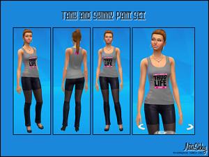 Повседневная одежда (комплекты с брюками, шортами)   Light453