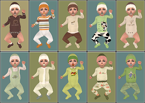 Одежда для младенцев (дефолты) - Страница 7 Light455