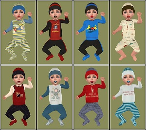 Одежда для младенцев (дефолты) - Страница 7 Light491