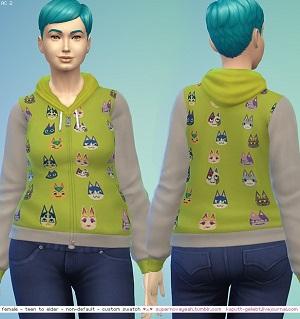 Повседневная одежда (топы, рубашки, свитера) Light555