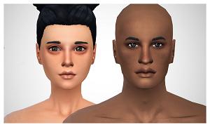Скинтоны, готовые лица Light715