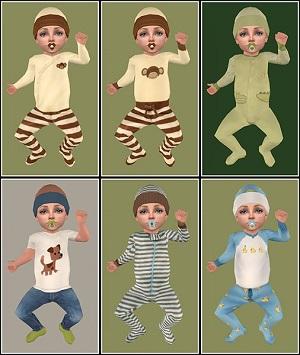 Одежда для младенцев (дефолты) - Страница 4 Lightu32
