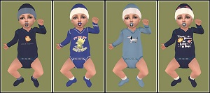 Одежда для младенцев (дефолты) - Страница 4 Lightu78