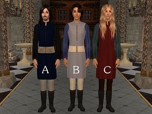 Старинные наряды, костюмы - Страница 3 Xr4oc169