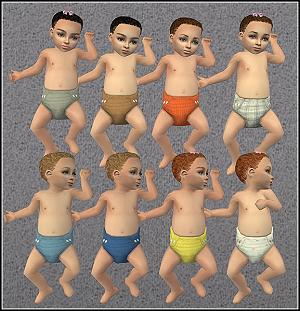 Одежда для младенцев (дефолты) - Страница 2 Xr4oc279