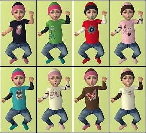 Одежда для младенцев (дефолты) - Страница 3 Xr4oc332
