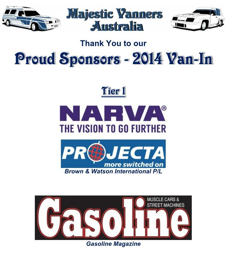 Majestic Vanners Australia 2014 Van-In Albury NSW October 3rd to 6th (on the Victorian Border)  2014_v10