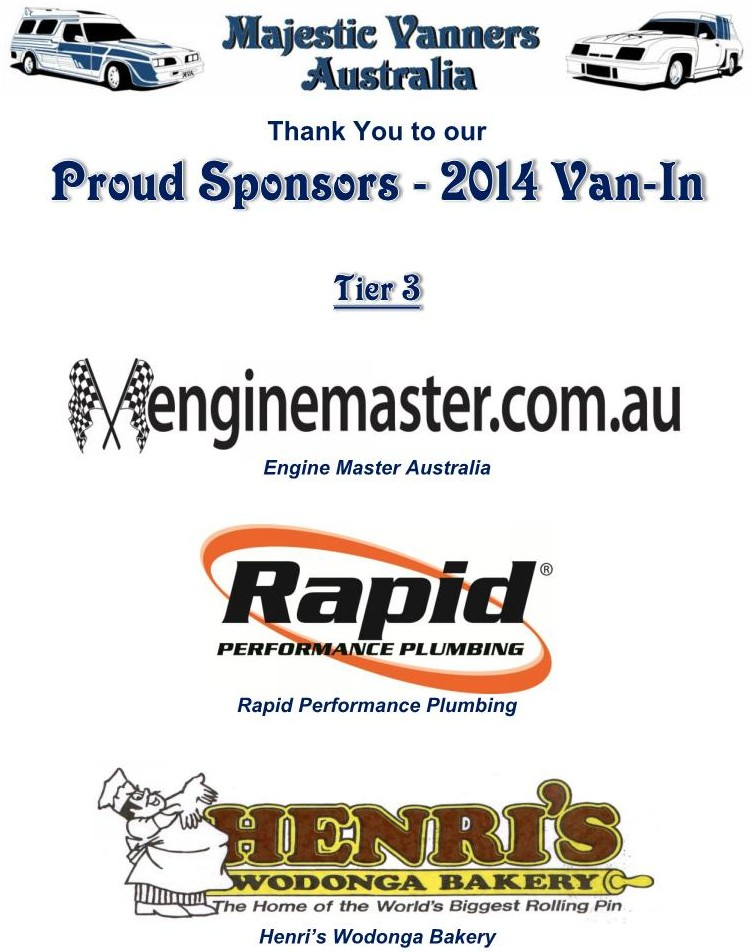 Majestic Vanners Australia 2014 Van-In Albury NSW October 3rd to 6th (on the Victorian Border)  2014_v12