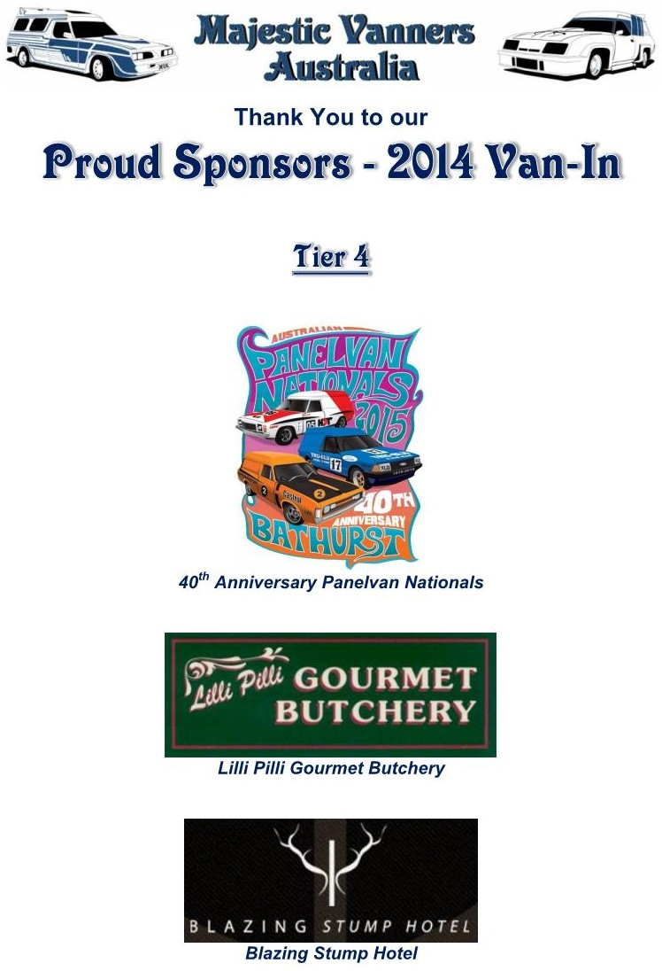 Majestic Vanners Australia 2014 Van-In Albury NSW October 3rd to 6th (on the Victorian Border)  2014_v13