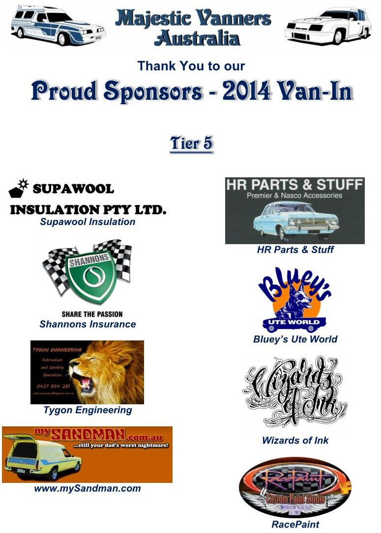 Majestic Vanners Australia 2014 Van-In Albury NSW October 3rd to 6th (on the Victorian Border)  2014_v14