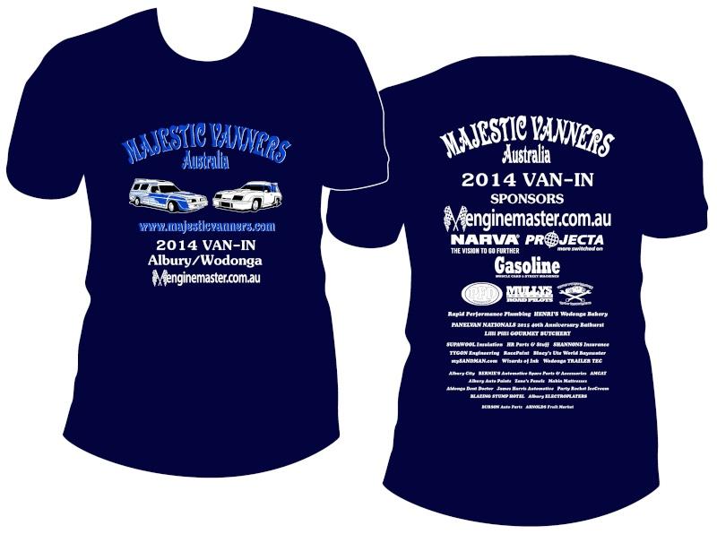 MAJESTIC VANNERS Australia 2014 Van-In Entry Form, Trophies & Maps 2014va10