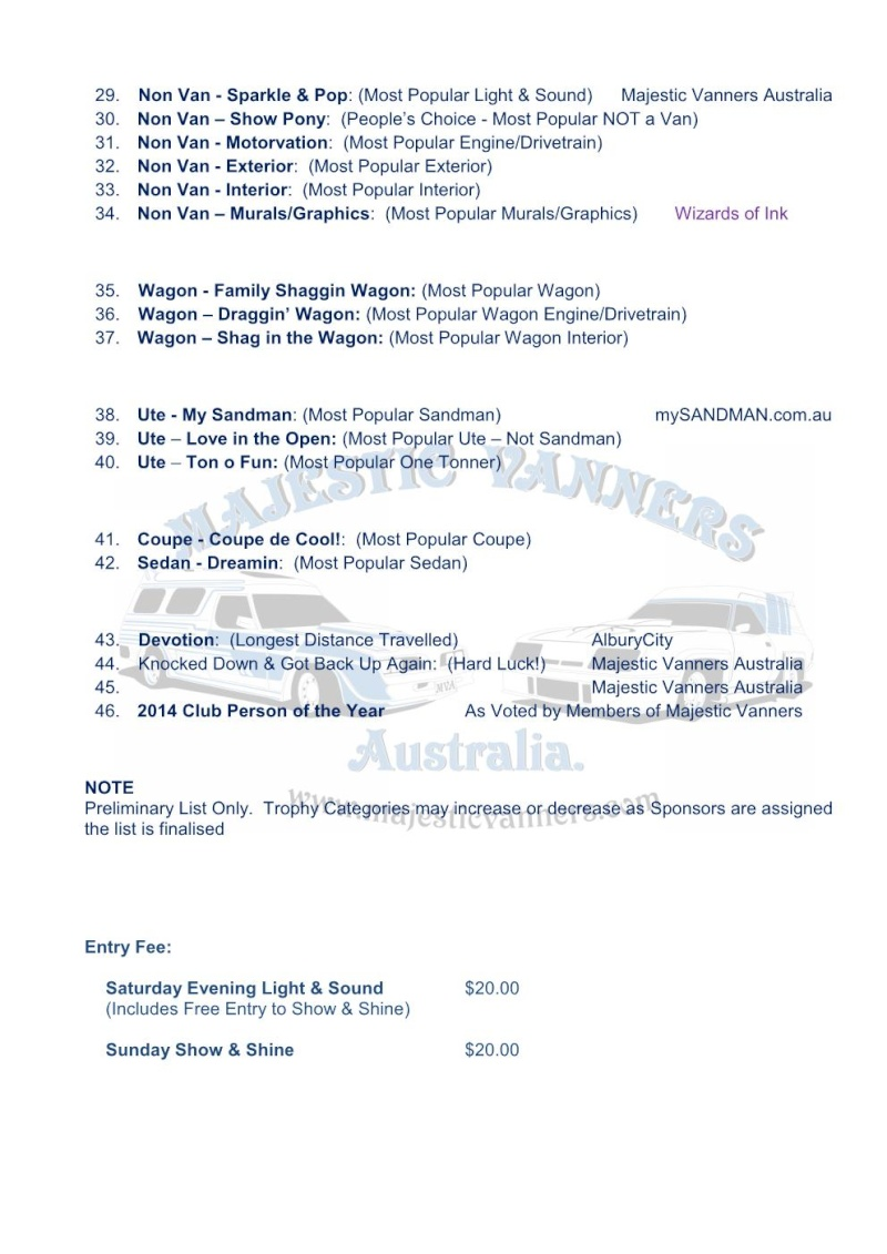 Majestic Vanners Australia 2014 Van-In Albury NSW October 3rd to 6th (on the Victorian Border)  - Page 2 Prelim11