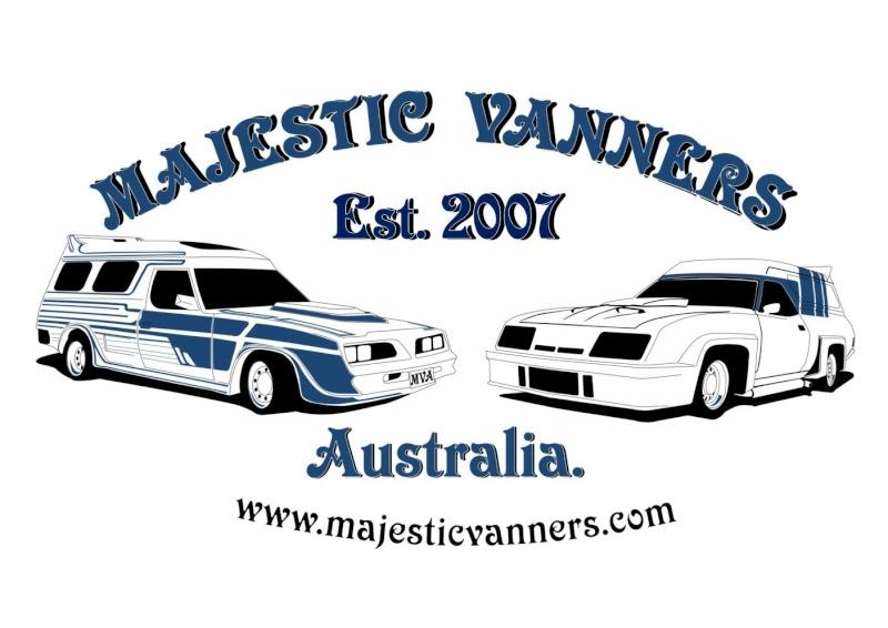 Tin Signs: MAJESTIC VANNERS Australia Est. 2007 Tin_si10