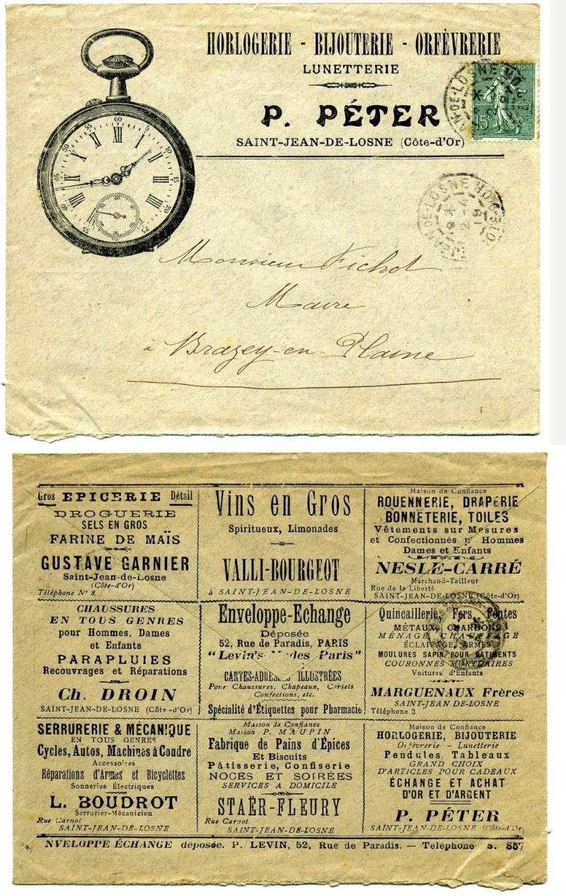 Enveloppe Echange publicitaire _5710