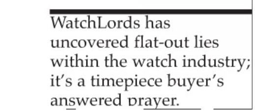 Watchlords