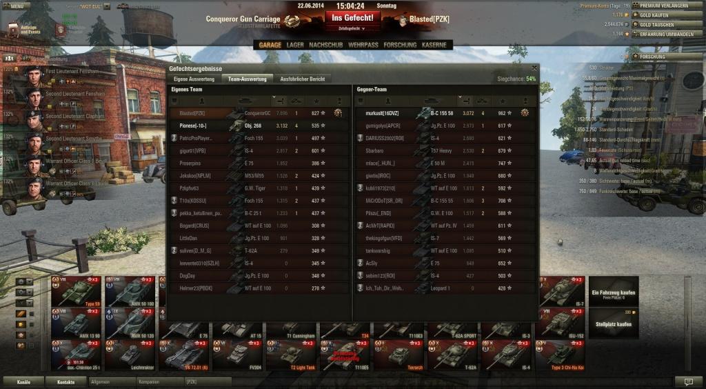 >8k damage mit dem Obj 261 und lose (u.a. Dank T69) Shot_439
