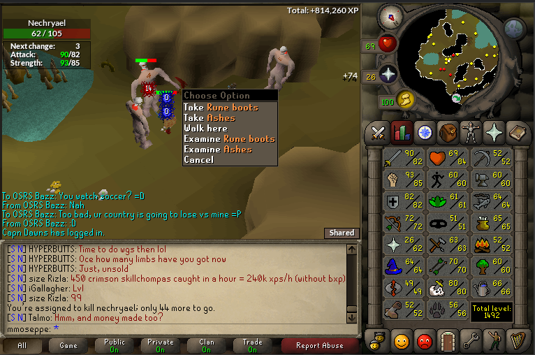 fire giant drop table osrs - 766×508