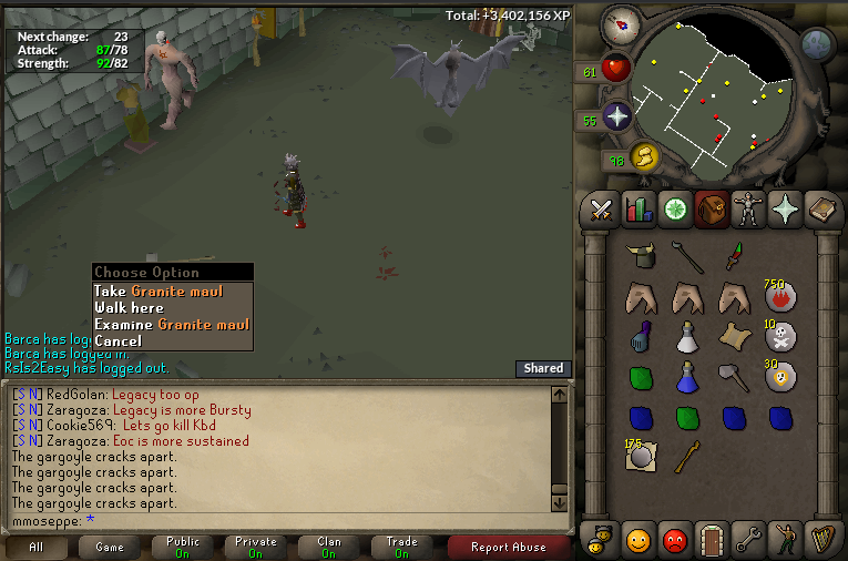 fire giant drop table osrs - 765×506