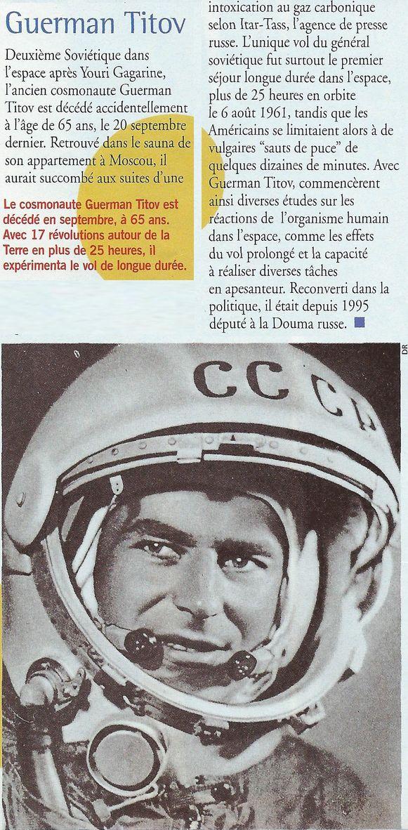 6 août 1961 - Vostok 2 - Guerman Titov 00110010