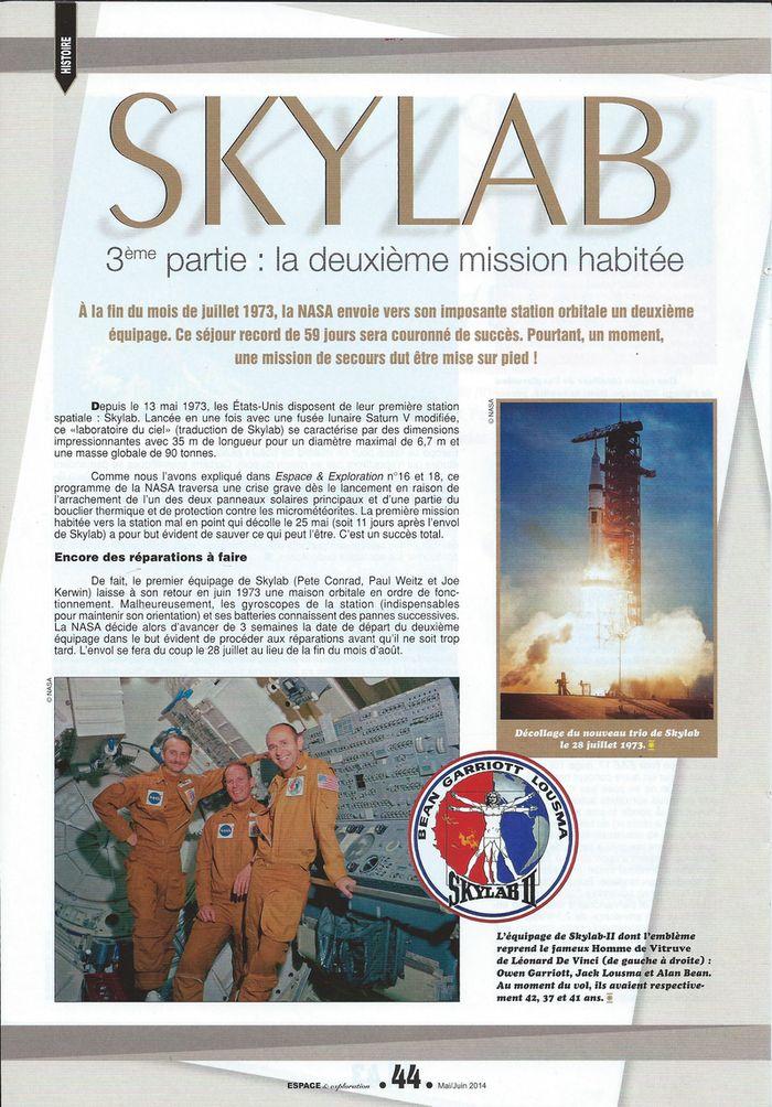 14 mai 1973 - Skylab - Seule station spatiale américaine - Page 2 14050010