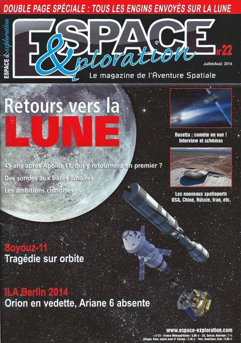 Espace & Exploration n°22 - Retour vers la Lune 14070010