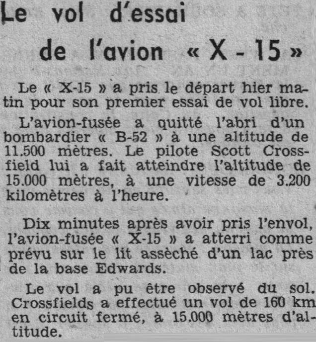 X-15 par La Liberté du Morbihan 59091910