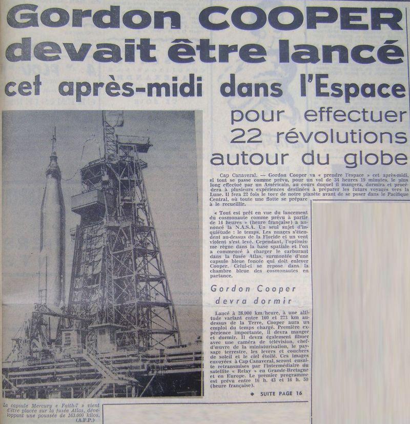 15 mai 1963 - Mercury Atlas  3 - Gordon Cooper 63051510