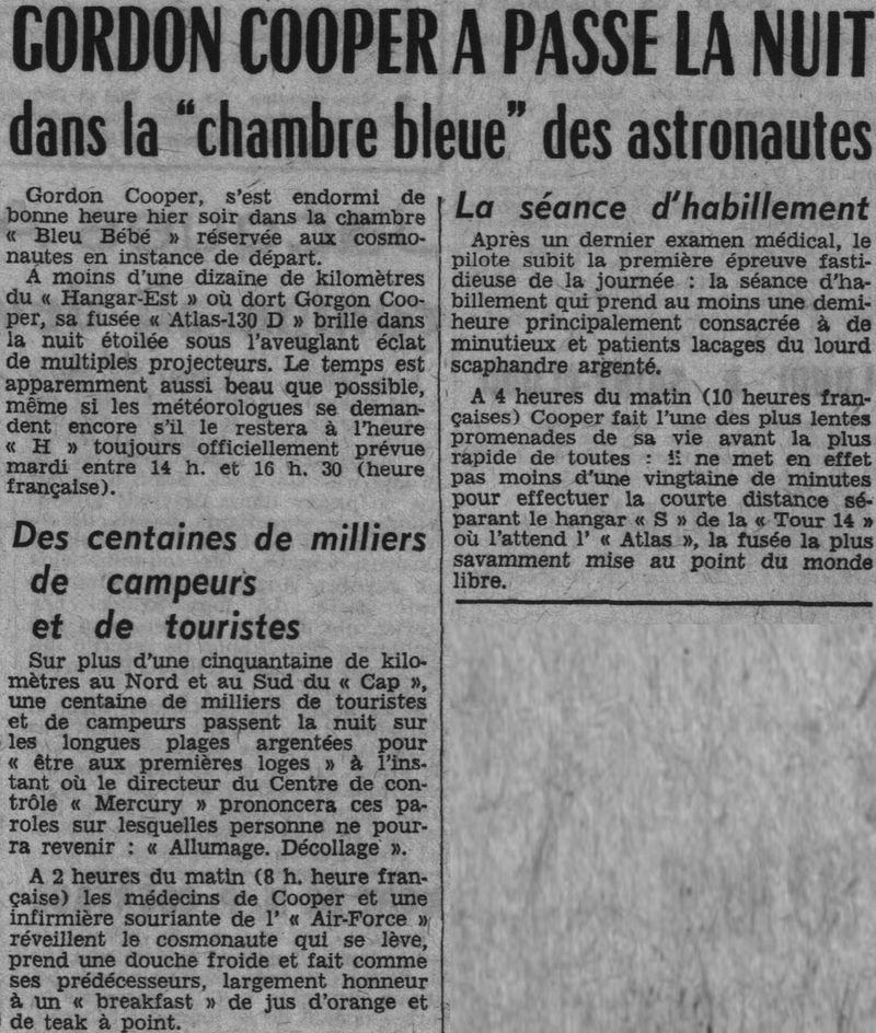 15 mai 1963 - Mercury Atlas  3 - Gordon Cooper 63051512