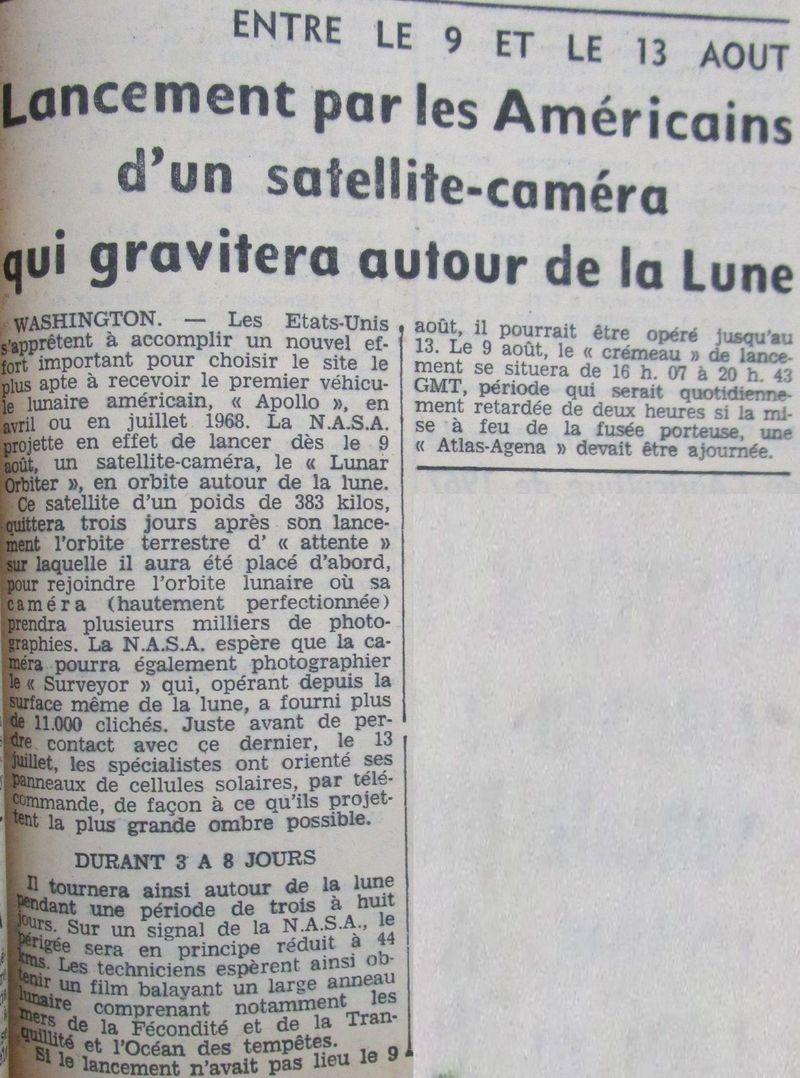 Lunar Orbiter 1 - 1er satellite lunaire américain 66073010