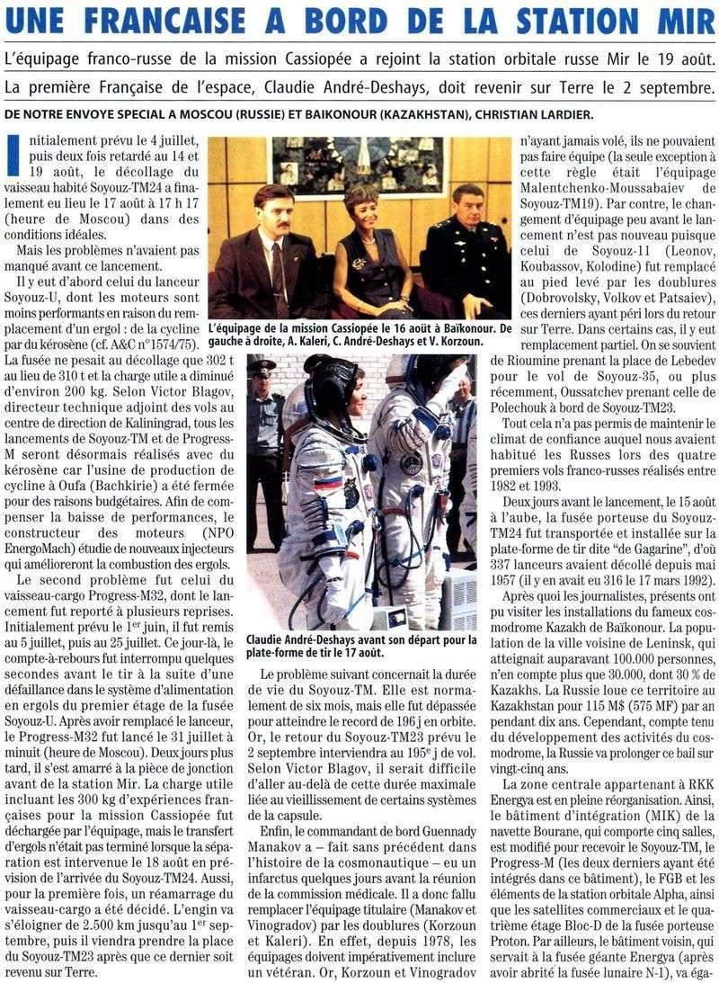 Claudie Haigneré - 1ère Française dans l'espace - Page 2 96083010