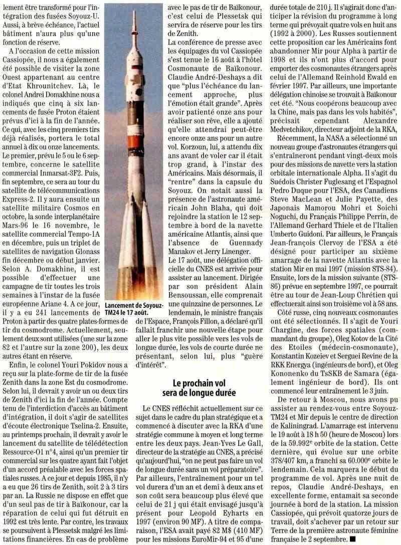 Claudie Haigneré - 1ère Française dans l'espace - Page 2 96083011