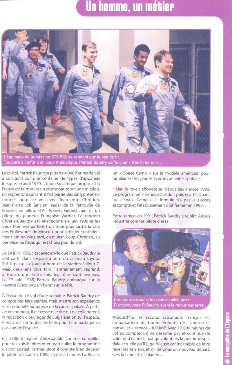 Patrick Baudry - 2ème Français dans l'espace - Page 2 Conque11