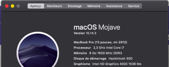 MacOS Mojave 10.14.3 final version (18D42) Captur19