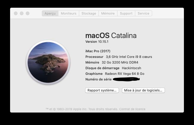 Mise a jour macOS Catalina 10.15.1 (19B88) Captur37