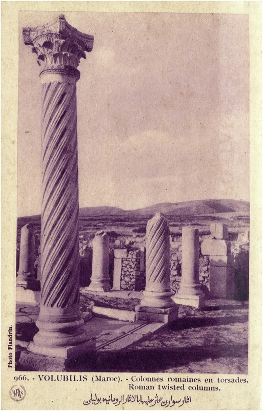 VOLUBILIS : LES SCULPTURES A_volu12