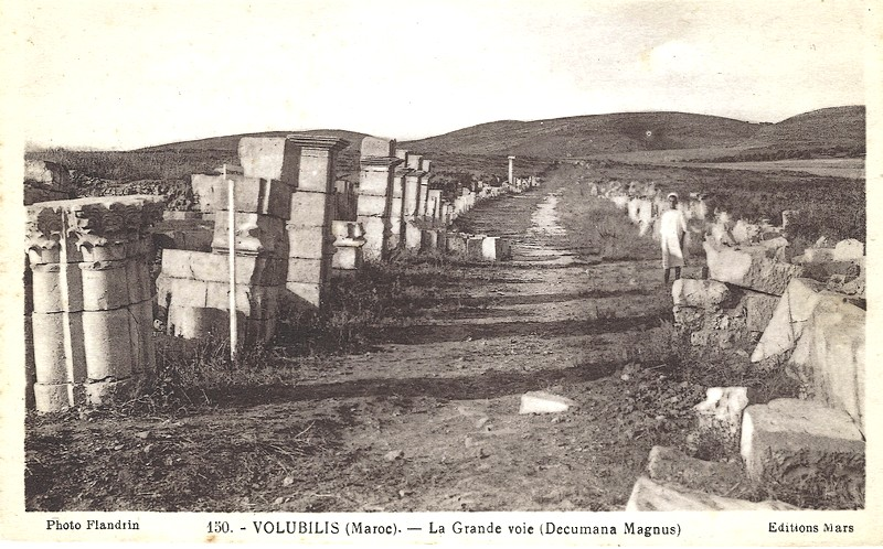 A LA DECOUVERTE DE VOLUBILIS A_volu17