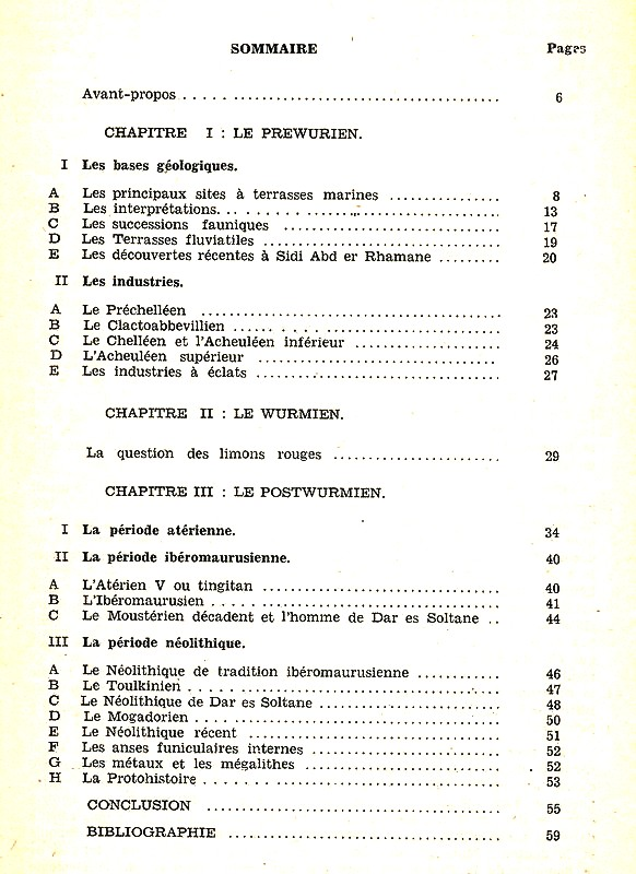 Les grandes lignes de la préhistoire marocaine Antoin13