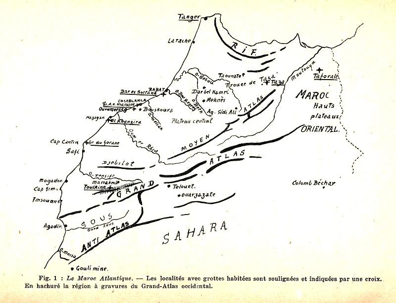 Les grandes lignes de la préhistoire marocaine Antoin14