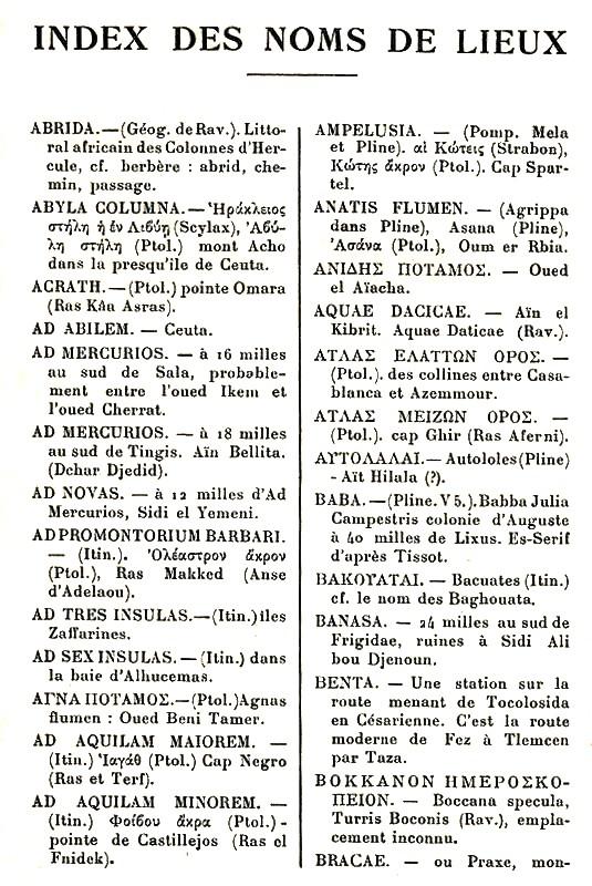 Le MAROC chez les auteurs anciens - Page 3 Auteur45