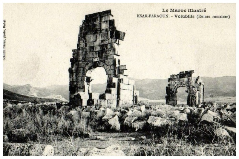 A LA DECOUVERTE DE VOLUBILIS Baasca14