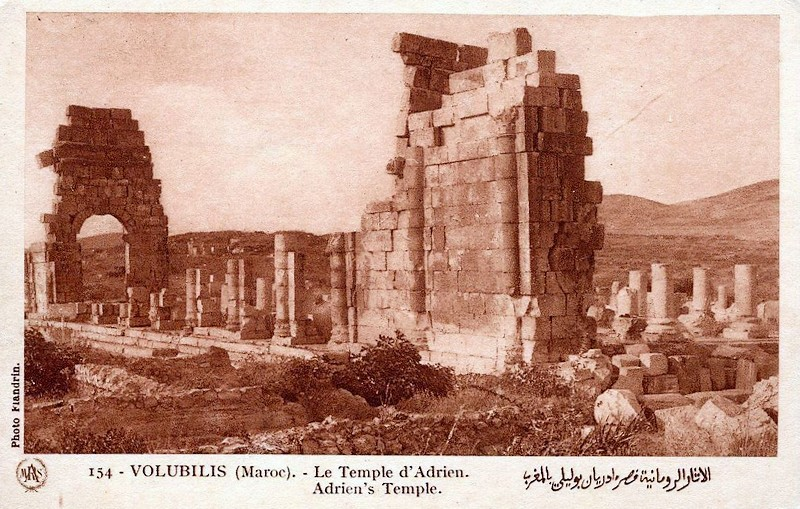 A LA DECOUVERTE DE VOLUBILIS Baasca15