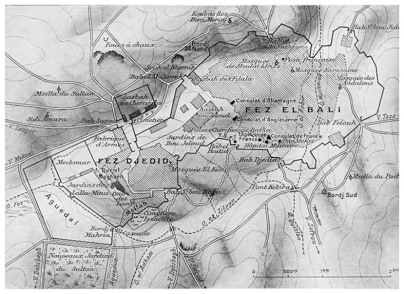 HUBERT-JACQUES : Les journées sanglantes de fez, avril 1912. Baasca19