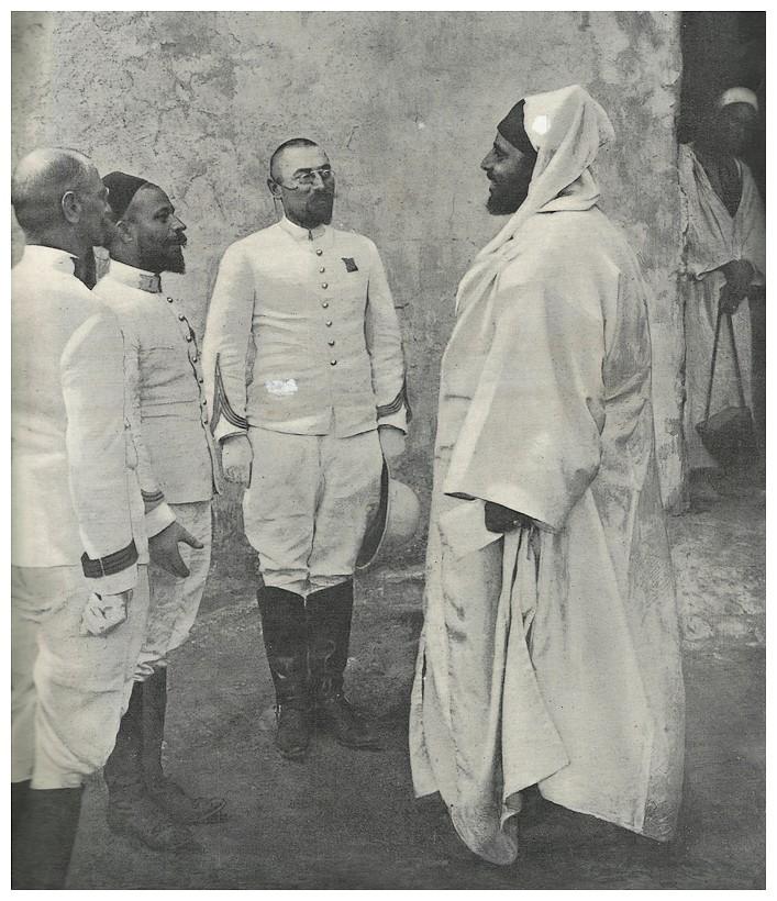 HUBERT-JACQUES : Les journées sanglantes de fez, avril 1912. Bascan12