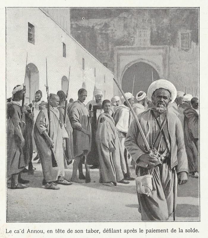 HUBERT-JACQUES : Les journées sanglantes de fez, avril 1912. Bascan15